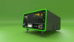 Mesure d'ultrasons par laser (sans contact)