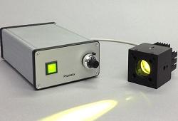 Sources à LED pour la microscopie