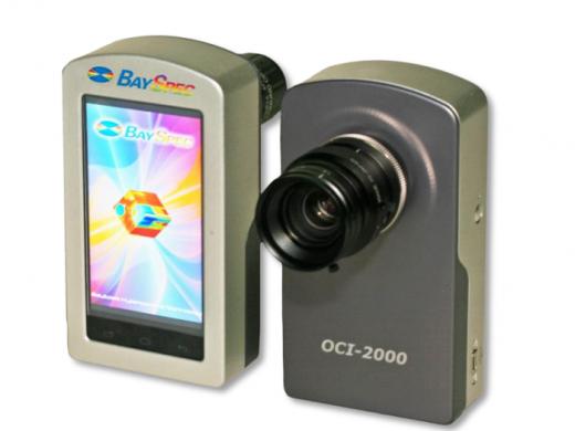 Caméras hyperspectrales
