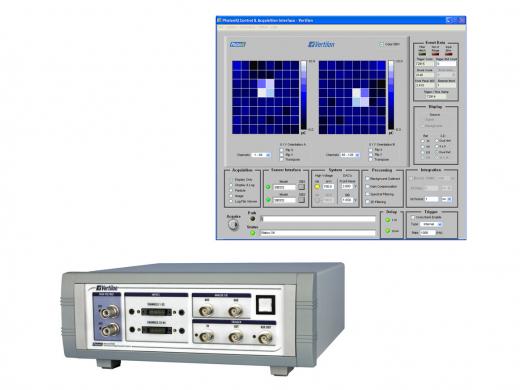 Interface matrice de détecteur